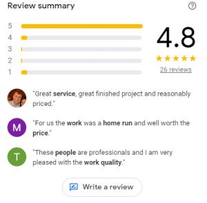 Google Reviews - Write a Review